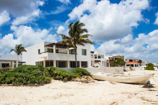 mexico ocean front real estate
